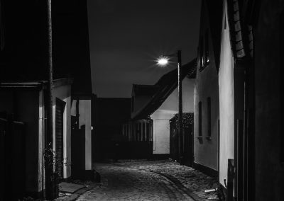 """Dragør by night"""