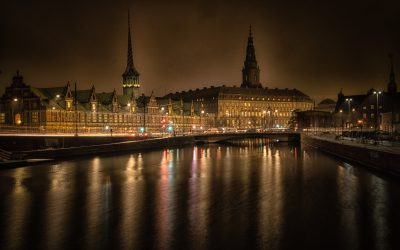 """Copenhagen by night"""